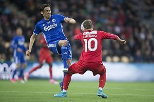 Uros Matic (FC K�benhavn), Emiliano Marcondes (FC Nordsj�lland)