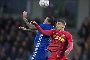 Federico Santander (FC K�benhavn), Andreas Maxs� (FC Nordsj�lland)