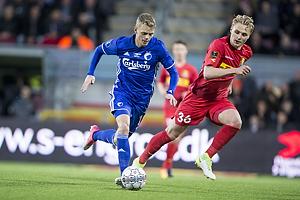 Kasper Kusk (FC K�benhavn), Victor Nelsson (FC Nordsj�lland)
