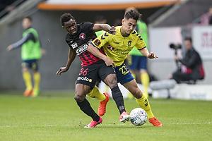 Rilwan Hassan (FC Midtjylland), Svenn Crone (Br�ndby IF)