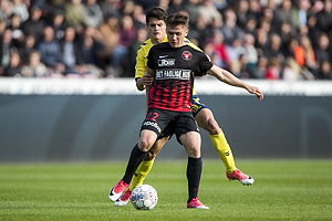 Christian N�rgaard (Br�ndby IF), Mikkel Duelund (FC Midtjylland)