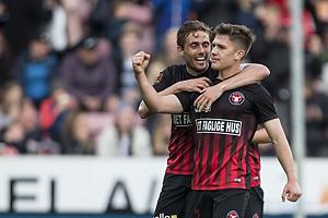 Mikkel Duelund, m�lscorer (FC Midtjylland)