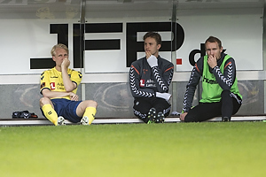 Johan Larsson (Br�ndby IF), Frederik R�nnow (Br�ndby IF), Thomas Kahlenberg (Br�ndby IF)
