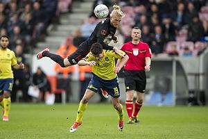 Simon Kroon (FC Midtjylland), Marco Tejmer Larsen (FC Midtjylland)