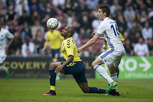 Rodolph William Austin (Br�ndby IF), Jan Gregus (FC K�benhavn)