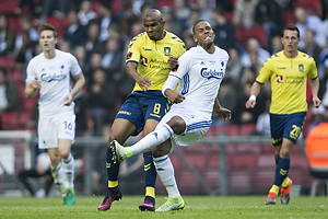 Rodolph William Austin (Br�ndby IF), Mathias Zanka J�rgensen (FC K�benhavn)