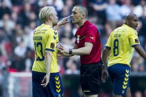 Johan Larsson (Br�ndby IF), Mads-Kristoffer Kristoffersen, dommer