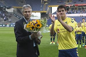 Christian N�rgaard (Br�ndby IF), Jesper J�rgensen, adm. direkt�r (Br�ndby IF)
