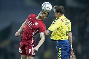 Lasse Fosgaard (Lyngby BK), Benedikt R�cker (Br�ndby IF)