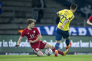Alexander Munksgaard (Lyngby BK), Svenn Crone (Br�ndby IF)