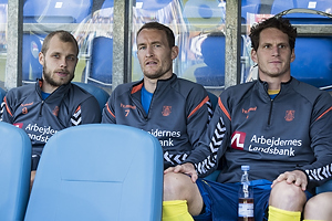 Teemu Pukki (Br�ndby IF), Thomas Kahlenberg (Br�ndby IF), Benedikt R�cker (Br�ndby IF)