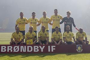 Kamil Wilczek (Br�ndby IF), Svenn Crone (Br�ndby IF), Hj�rtur Hermannsson (Br�ndby IF), Benedikt R�cker (Br�ndby IF), Frederik R�nnow (Br�ndby IF), Teemu Pukki (Br�ndby IF), Johan Larsson, anf�rer (Br�ndby IF), Frederik Holst (Br�ndby IF), Christian N�rgaard (Br�ndby IF), Hany Mukhtar (Br�ndby IF), Rodolph William Austin (Br�ndby IF)