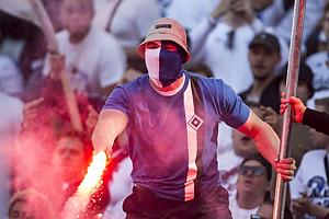 FCK-Fan med romerlys