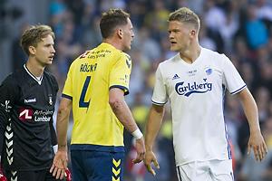 Frederik R�nnow (Br�ndby IF), Benedikt R�cker (Br�ndby IF), Andreas Cornelius (FC K�benhavn)