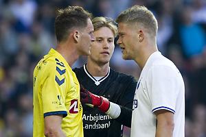 Benedikt R�cker (Br�ndby IF), Andreas Cornelius (FC K�benhavn), Frederik R�nnow (Br�ndby IF)