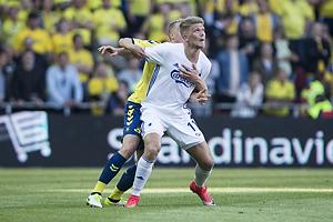Hj�rtur Hermannsson (Br�ndby IF), Andreas Cornelius (FC K�benhavn)