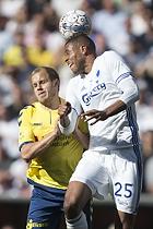 Teemu Pukki (Br�ndby IF), Mathias Zanka J�rgensen, anf�rer (FC K�benhavn)