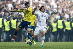 Christian N�rgaard (Br�ndby IF), Federico Santander (FC K�benhavn)