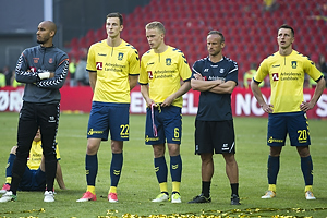 Adam Larsen Kwarasey (Br�ndby IF), Gustaf Nilsson (Br�ndby IF), Hj�rtur Hermannsson (Br�ndby IF), Ahron Thode (Br�ndby IF), Kamil Wilczek (Br�ndby IF)