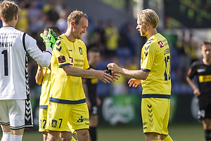 Thomas Kahlenberg (Br�ndby IF), Johan Larsson (Br�ndby IF)