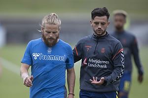 Kasper Fisker (Br�ndby IF), Besar Halimi (Br�ndby IF)