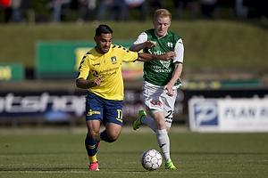 Rezan Corlu (Br�ndby IF), Andreas Baes (N�stved IF)