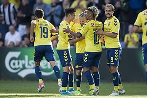 Kasper Fisker, m�lscorer (Br�ndby IF), Gregor Siko�ek (Br�ndby IF), Hany Mukhtar (Br�ndby IF), Teemu Pukki (Br�ndby IF)