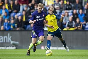 Teemu Pukki (Br�ndby IF), Rasmus Nissen Kristensen (FC Midtjylland)