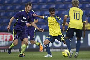 Nikolay Bodurov (FC Midtjylland), Besar Halimi (Br�ndby IF)