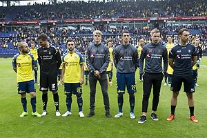 Kasper Fisker (Br�ndby IF), Benjamin Bellot (Br�ndby IF), Besar Halimi (Br�ndby IF), Filip Blazek (Br�ndby IF)