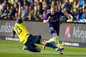 Paulus Arajuuri (Br�ndby IF), Simon Kroon (FC Midtjylland)