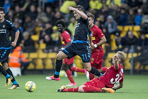 Lasse Vigen Christensen (Br�ndby IF), Victor Nelsson (FC Nordsj�lland)