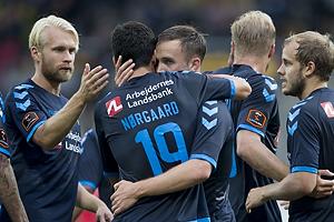 Johan Larsson (Br�ndby IF), Christian N�rgaard (Br�ndby IF), Lasse Vigen Christensen (Br�ndby IF)