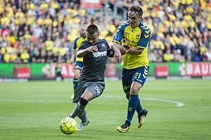 Lasse Vigen Christensen (Br�ndby IF), Fran Tudor (Hajduk Split)