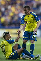 Hany Mukhtar (Br�ndby IF), Lasse Vigen Christensen (Br�ndby IF)