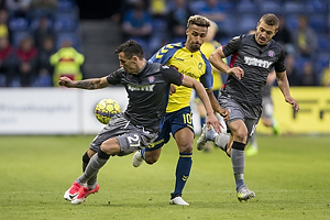 Hany Mukhtar (Br�ndby IF), Hysen Memolla (Hajduk Split)