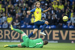 Teemu Pukki (Br�ndby IF), Dante Stipica (Hajduk Split)