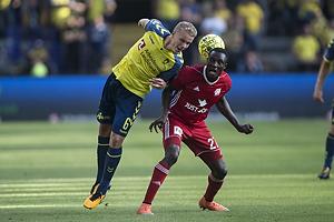 Hj�rtur Hermannsson (Br�ndby IF), Kim Ojo (Lyngby BK)