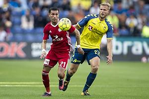 David Katz Boysen (Lyngby BK), Paulus Arajuuri (Br�ndby IF)
