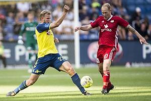 Paulus Arajuuri (Br�ndby IF), Mikkel Rygaard (Lyngby BK)