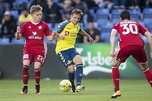 Bror Blume (Lyngby BK), Lasse Vigen Christensen (Br�ndby IF)