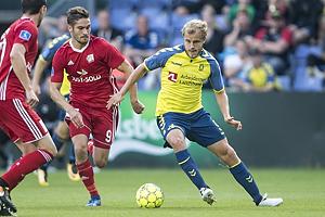 Teemu Pukki (Br�ndby IF), Lasse Fosgaard (Lyngby BK)