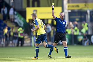 Hj�rtur Hermannsson (Br�ndby IF), Jakob Kehlet, dommer