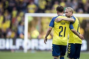 Lasse Vigen Christensen (Br�ndby IF), Johan Larsson (Br�ndby IF)