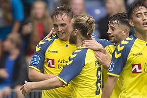 Lasse Vigen Christensen, m�lscorer (Br�ndby IF), Kasper Fisker (Br�ndby IF)
