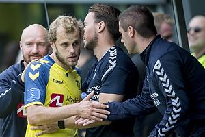 Teemu Pukki (Br�ndby IF), Martin Retov, assistenttr�ner (Br�ndby IF)