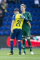 Lasse Vigen Christensen (Br�ndby IF), Frederik R�nnow (Br�ndby IF)