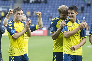 Lasse Vigen Christensen (Br�ndby IF), Christian N�rgaard (Br�ndby IF)