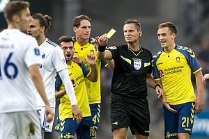 Anders Poulsen, dommer, Lasse Vigen Christensen (Br�ndby IF)