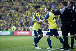 Besar Halimi (Br�ndby IF), Simon Tibbling (Br�ndby IF)